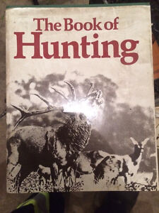 Antique hunting hardcover book