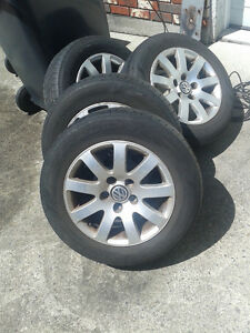 VW Mags and Tires Set of 4