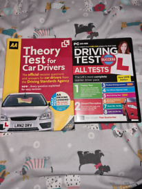 Theory test book and disc
