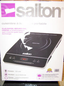 ROND INDUCTION SALTON COMME NEUF. 1800 WATTS