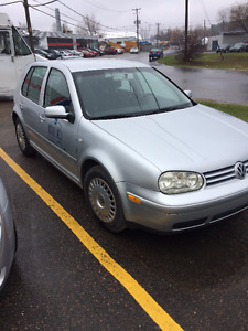 2002 Volkswagen Golf 5 portes