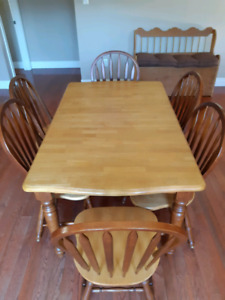 Dinning table, convertible 4 to 6 seats