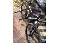 Full disc brakes mountain bike