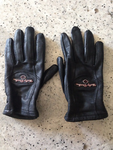 Women's Harley Davidson Black Gloves