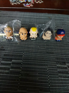Lot of 5 wwe tennymates