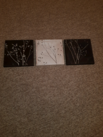 SUEDE MATCHING CANVASES