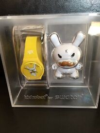 Kidrobot Swatch Watch