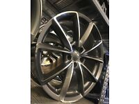 "20"" alloy wheels Alloys Rims tyre tyres 112 5x112 audi seat skoda Vw Volkswagen"
