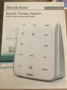 Brand New Brookstone Sound Therapy System