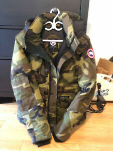 FOR SALE: Canada Goose Selkirk Green Camo