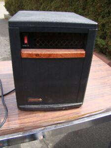 EdenPURE Quartz Infrared portable heater
