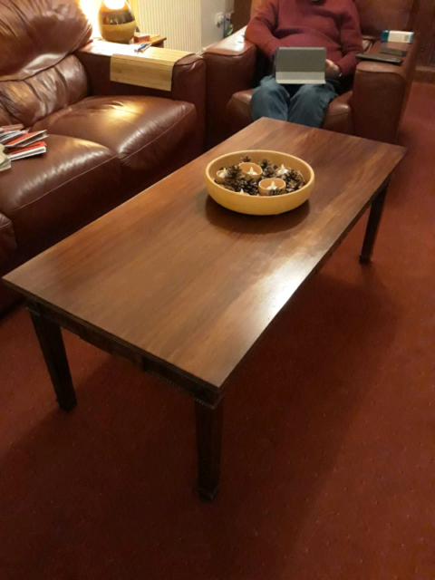Mahogany Coffee Table In St Andrews Fife Gumtree