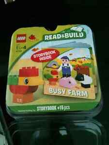 Excellent condition lego busy farm with a book