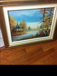 Beautifull hand painted oil painting
