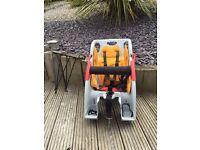 Co pilot rear mount child seat