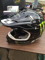 Brand new monster DNC motorcross helmet