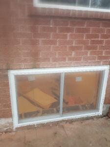 seprate entrances, enlarge basement windows