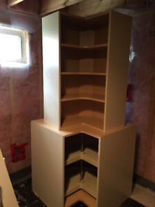 Kitchenette  / laundry Cupboards
