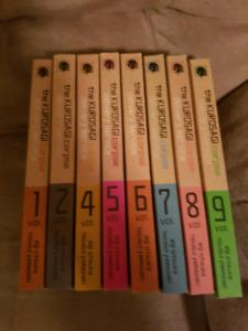 Assorted manga lots