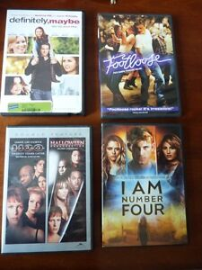 Definitely,maybe,Halloween/H2O, Footloose, I am number Four-sold