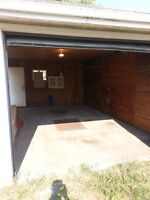 OVER SIZED SINGLE GARAGE CLOSE TO KINGSWAY MALL/NAIT