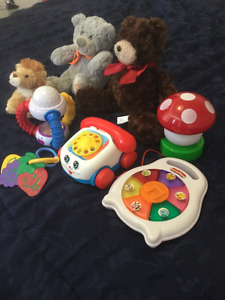 Assorted Baby toys, gender neutral