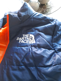 Mens large blue puffer jacket. Brand new never been worn!