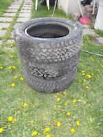 3 pneus d'hiver 185/60 r14