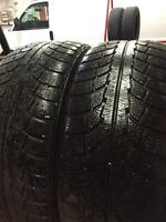 Two Gislaved snow / winter tires 205/50R17. Install available