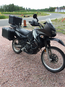 FULLY EQUIPPED for Adventure - KLR 650