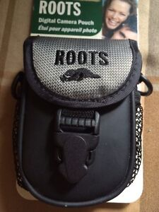 Roots digital camera pouch