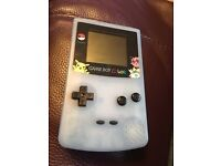 Nintendo Glow in the dark Gameboy Colour with Games