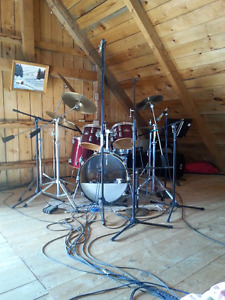 pearl drum set for sale