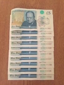 New Fiver - 10 notes