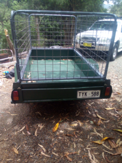Cage Trailer, perfect condition. Lismore Lismore Area Preview