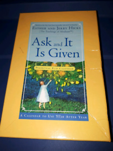 Ask and it is given esther hicks calendar