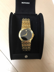 Movado Museum Gold Mens Watch