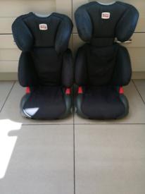 Britax Adventure high back booster car seats