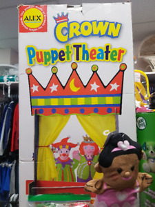 Alex Crown Puppet Theatrem- New in Box