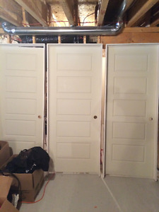 left over doors for sale (New)