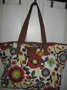 Like new LiLY BLOOM eco friendly TOTE bag