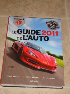 Livre d'auto Le guide de l'auto 2011