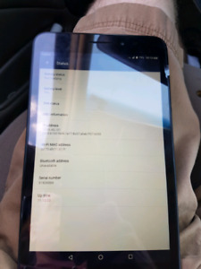 8 inch Android ZTE lock to virgin