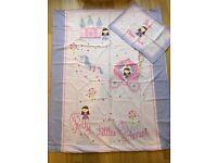 Cot bed / toddler bed sheet sets