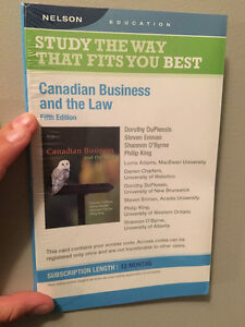 Red River College Canadian Business and the Law Access Code