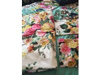 Joules king size floral bedding
