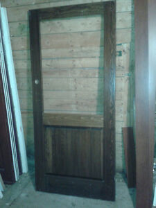Like new Assortment of doors. Interior are $20 exterior are $50