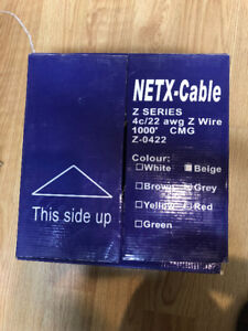 Cable - PTI Cables 22/4C Station Z, Beige