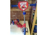 Children's Chuggington's scooter
