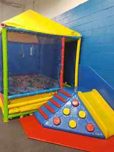 Indoor playground and child care center equipment